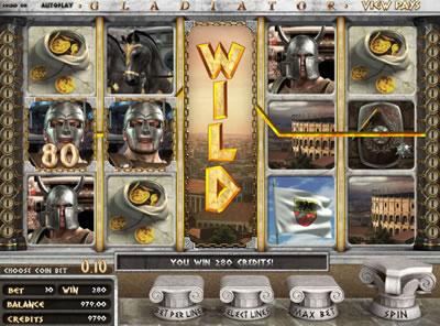 Gladiator 3d slots